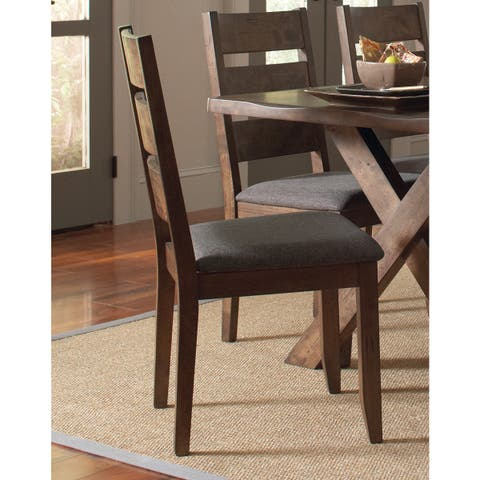 """Coaster Company Brown Wood Dining Chair (Set of 2) - 20"""" x 22.75"""" x 38"""""""