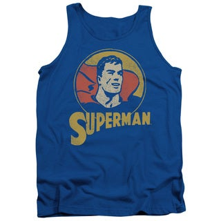 DC/Super Circle Adult Tank in Royal Blue