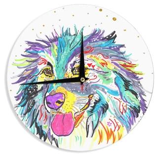 KESS InHouse Rebecca Fischer 'Dally' Wall Clock