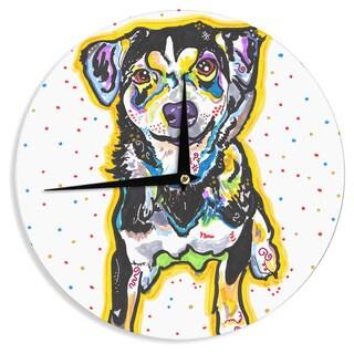 KESS InHouse Rebecca Fischer 'Jasper' Wall Clock