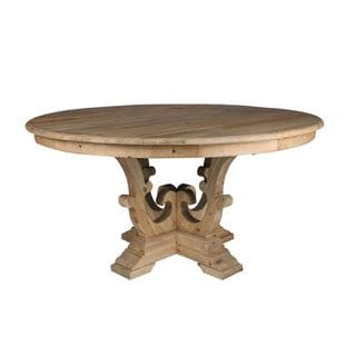 Aurelle Home Natural Dining Table
