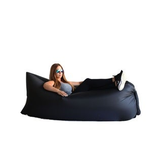 Zephyr Black Inflatable Air Bag Parachute Couch