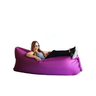 Zephyr Purple Inflatable Air Bag Parachute Couch