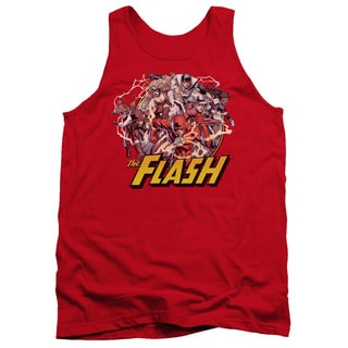 JLA/Flash Family Adult Tank in Red