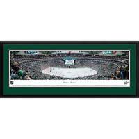 Blakeway Panoramas 'Dallas Stars' Framed NHL Print