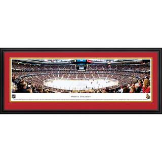 - Blakeway Panoramas NHL Print Ottawa Senators Framed Wall Art