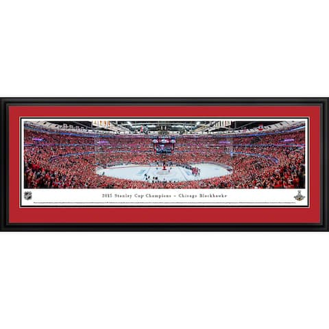 2015 Stanley Cup Champs Chicago Blackhawks Framed NHL Print