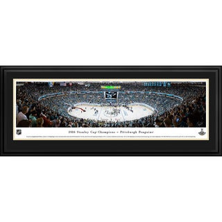 Blakeway Panoramas 2016 NHL Stanley Cup Champions Pittsburgh Penguins Framed NHL Print
