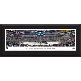 Blakeway Worldwide Panoramas 2014 Stanley Cup Champions Los Angeles Kings Framed NHL Print (3 options available)