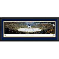 Blakeway Panoramas 'Nashville Predators Playoffs' Framed NHL Print