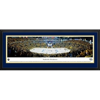 Blakeway Panoramas 'Nashville Predators Playoffs' Framed NHL Print