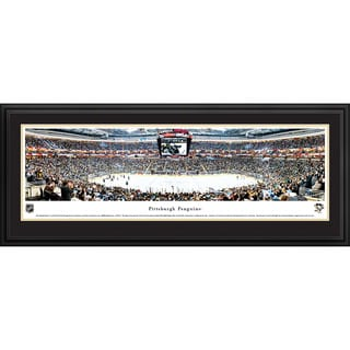 Blakeway Panoramas 'Center Ice' Pittsburgh Penguins NHL Framed Print