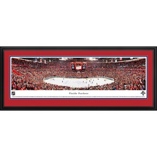 Blakeway Panoramas Florida Panthers Framed NHL Print