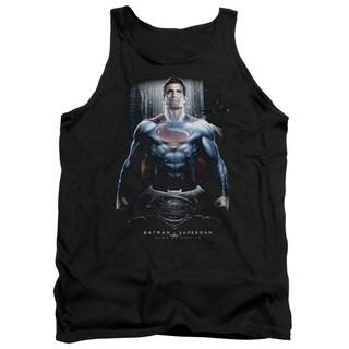Batman V Superman/Supe Ground Zero Adult Tank in Black