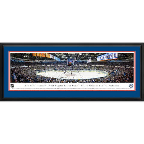 Blakeway Panoramas New York Islanders - Framed NHL Print