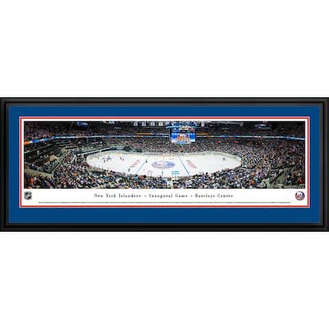 Blakeway Panoramas New York Islanders Framed NHL Print