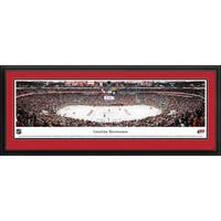 Blakeway Panoramas NHL Carolina Hurricanes Framed Print