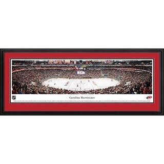 Blakeway Panoramas NHL Carolina Hurricanes Framed Print