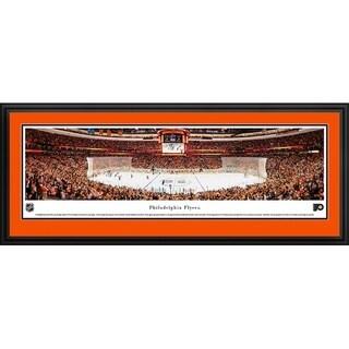 Blakeway Worldwide Panoramas Philadelphia Flyers Framed NHL Print