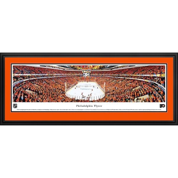 Blakeway Panoramas Philadelphia Flyers Framed Print
