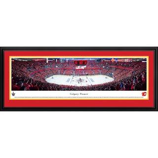 Blakeway Panoramas Calgary Flames Framed NHL Print