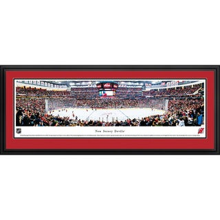 Blakeway Panoramas 'New Jersey Devils' Framed NHL Print