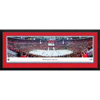Blakeway Panoramas Washington Capitals Center Ice Multicolored Framed NHL Print