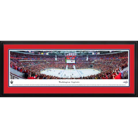 Blakeway Panoramas Washington Capitals Framed NHL Print