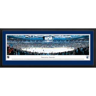 Blakeway Panoramas Vancouver Canucks Framed NHL Print
