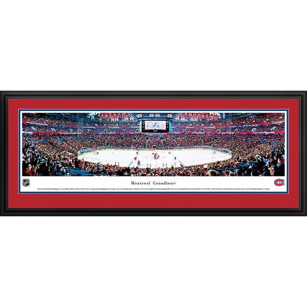 Blakeway Panoramas James Blakeway Montreal Canadiens 'Center Ice' Framed NHL Print