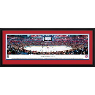 Blakeway Panoramas James Blakeway Montreal Canadiens 'Center Ice' Framed NHL Print