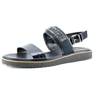 Cole Haan Women's Capri Sandal Black Patent Leather Sandals
