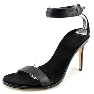 Cole Haan Women's Cyro Black Leather Sandals