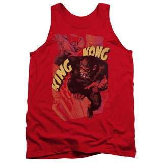 King Kong/Plane Grab Adult Tank in Red
