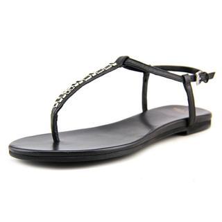 Cole Haan Women's Effie Jewel Black Synthetic Sandals