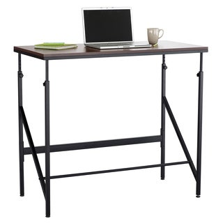 Elevate Standing-height Desk, with Steel Base, and Melamine Laminate Top