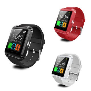 ETCBuys Multitasking Bluetooth Digital Silicone Bracelet Smart Watch for Android