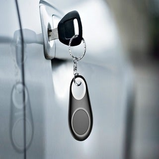 ETCBUYS Bluetooth Tracker Remote With GPS Locator Keychain Tag
