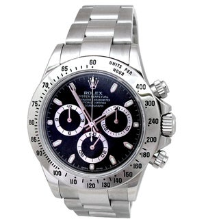 Pre-owned Rolex Men's 40mm Stainless Steel Daytona Watch