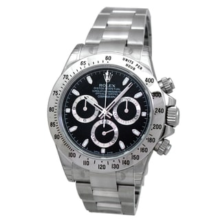 Pre-owned Rolex Women's Stainless Steel Daytona Watch
