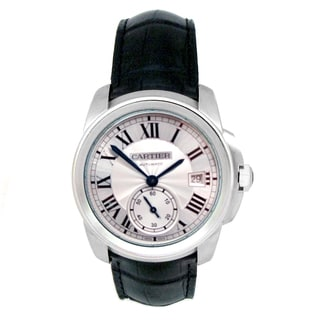 Pre-owned 38mm Cartier Stainless Steel Calibre Watch