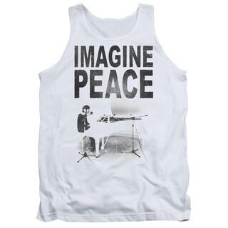 John Lennon/Imagine Adult Tank in White