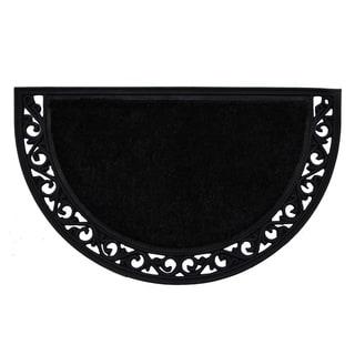 Black Arch Doormat (2' x 3')