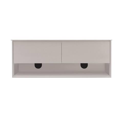 Avanity Sonoma White Finish 63-inch Vanity Only