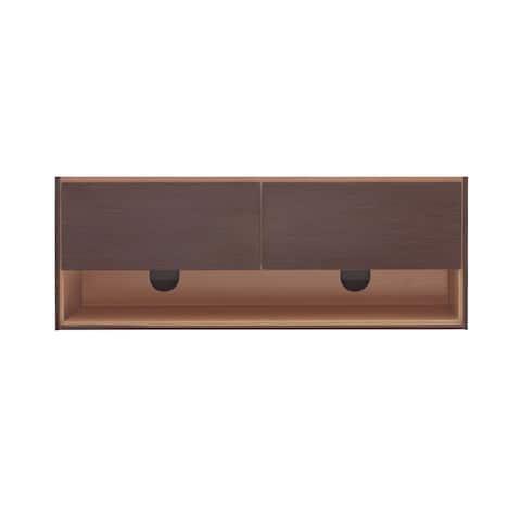 Avanity Sonoma 63-inch Iron Wood Finish Vanity Only