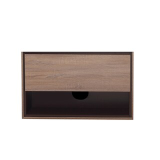 Avanity Sonoma 39-inch Restored Khaki Wood Finish Vanity Only
