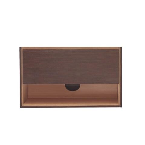 Avanity Sonoma 39-inch Iron Wood Finish Vanity Only