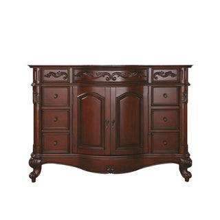 Avanity Provence Antique Cherry Finish 48-inch Vanity Only