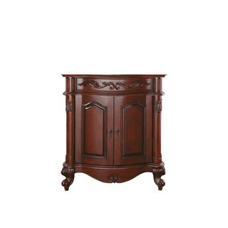 Avanity Provence 30-inch Antique Cherry Finish Vanity Only