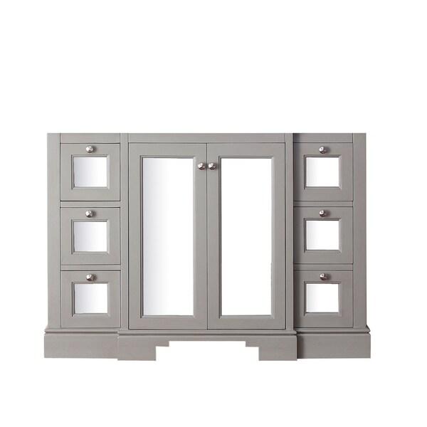 Avanity Newport 48-inch French Grey Finish Vanity Only